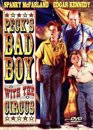 Peck's Bad Boy with the Circus - Image: Poster of Peck's Bad Boy with the Circus