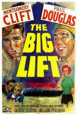 The Big Lift - Image: Poster of the movie The Big Lift