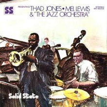 Presenting Thad Jones/Mel Lewis and the Jazz Orchestra - Wikipedia