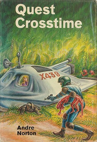 Quest Crosstime - Cover of first edition