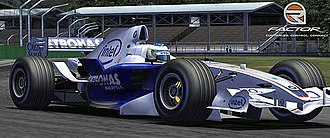 RFactor - BMW Sauber vehicle in a promotional image