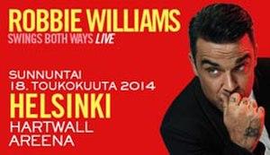 Swings Both Ways Live - Image: R Williams Swing Live Ad