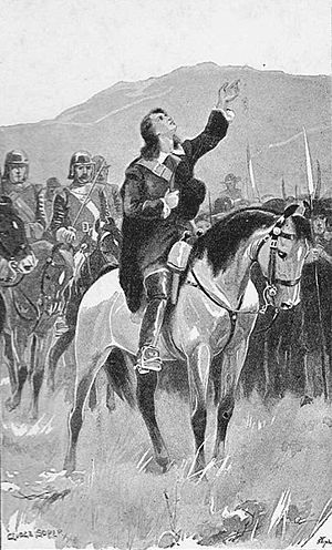 Richard Cameron (Covenanter) - Cameron depicted in a Covenanter history published in 1901