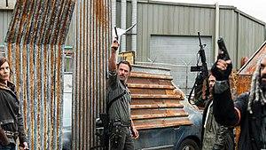 Mercy (The Walking Dead) - Image: Rick, Maggie, Jesus and Ezekiel