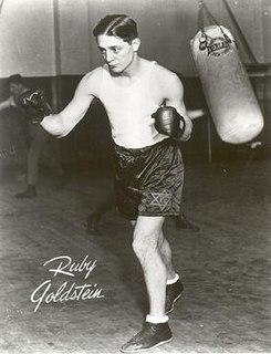 Ruby Goldstein American boxer