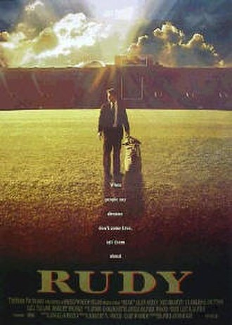 Rudy (film) - Theatrical release poster