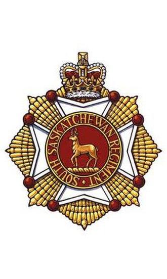 The South Saskatchewan Regiment - Image: S Sask R Cap Badge