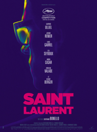 Saint Laurent (film) - French theatrical release poster