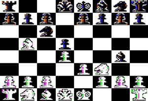 Sargon (chess) - Image: Sargon I screenshot