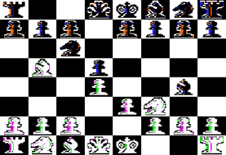 Sargon (chess) - Sargon I for the Apple II