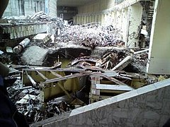 Sayano-Shushenskaya HPS - generator hall post-accident.jpg