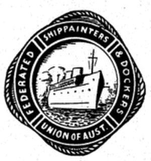 Federated Ship Painters and Dockers Union - Image: Ship Painters and Dockers Union logo