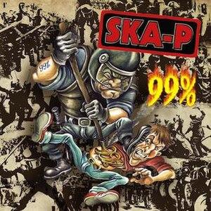 99% (Ska-P album) - Image: Ska P 99%