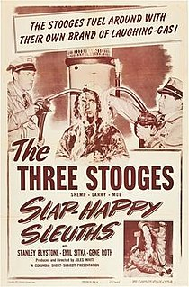 <i>Slaphappy Sleuths</i> 1950 film by Jules White