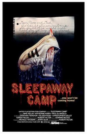 Sleepaway Camp - Theatrical film poster