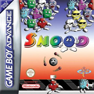 Snood (video game) - Game Boy Advance cover