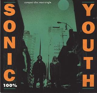 100% (Sonic Youth song) single from Sonic Youth
