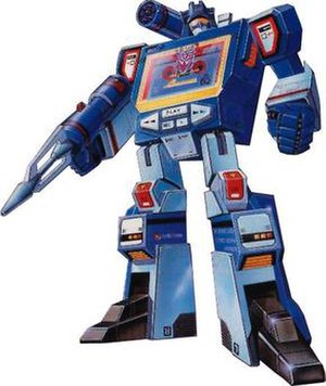 Soundwave (Transformers) - Generation 1 Soundwave box art