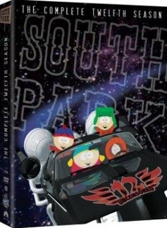South Park (season 12) - DVD cover
