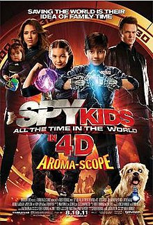 Strani filmovi sa prevodom - Spy Kids: All the Time in the World in 4D (2011)