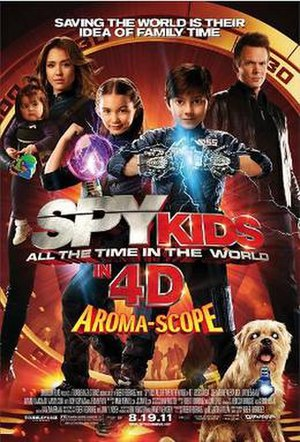 Spy Kids: All the Time in the World - Theatrical release poster
