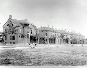 Fort McPherson - Image: Staff Row at Fort Mc Pherson