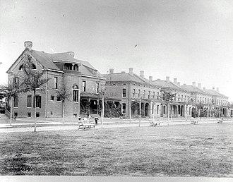 Fort McPherson - Image: Staff Row at Fort Mc Pherson