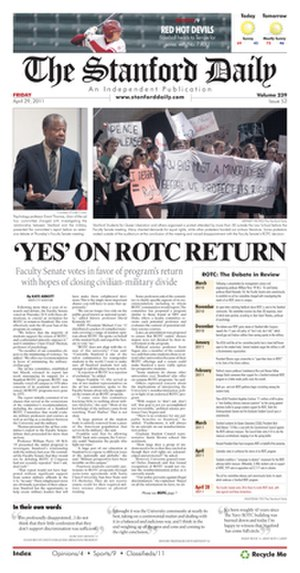The Stanford Daily - The Stanford Daily, May 29, 2011