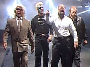 Starrcade (1989) - Sting became a member of the Four Horsemen after Starrcade