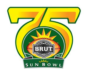2008 Sun Bowl - 75th Anniversary Sun Bowl logo