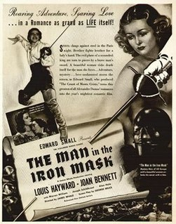 <i>The Man in the Iron Mask</i> (1939 film) 1939 film by James Whale