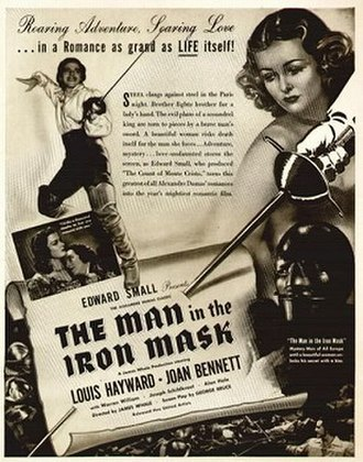 The Man in the Iron Mask (1939 film) - Image: THE MAN IN THE IRON MASK 1939