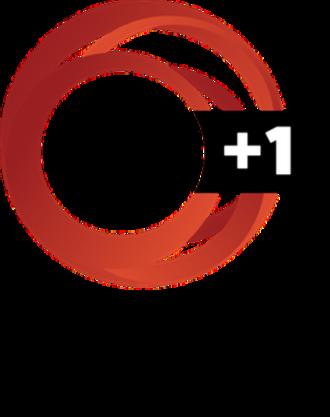 TVNZ 1 - Image: TVNZ 1 +1 logo