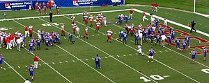 Louisiana Tech Bulldogs football - Fresno State–Louisiana Tech pregame clash in 2004