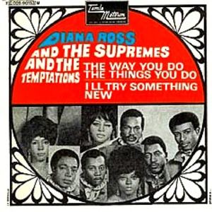 I'll Try Something New (song) - Image: Temps and Supremes I'll Try