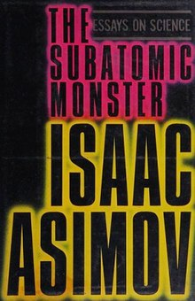 Essays by Isaac Asimov From The Magazine of Fantasy and Science Fiction
