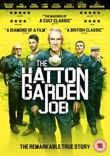 <i>The Hatton Garden Job</i> 2017 film