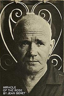 <i>Miracle of the Rose</i> book by Jean Genet