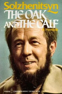 The Oak And The Calf Aleksandr Solzhenitsyn