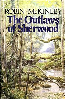 <i>The Outlaws of Sherwood</i> novel by Robin McKinley