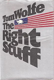 <i>The Right Stuff</i> (book) book by Tom Wolfe