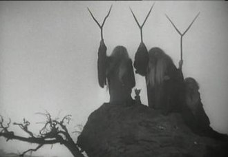 The Three Witches in Orson Welles' controversial 1948 film adaptation Three Witches Welles.JPG