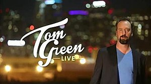 Tom Green's House Tonight - Tom Green Live title card