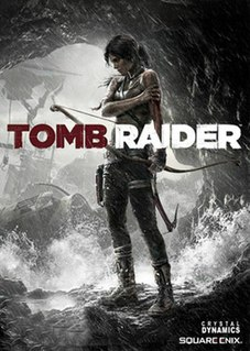 <i>Tomb Raider</i> (2013 video game) 2013 action-adventure video game developed by Crystal Dynamics