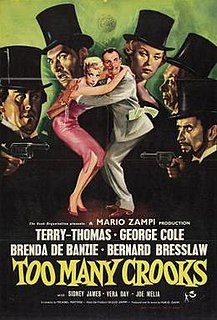 <i>Too Many Crooks</i> 1959 film by Mario Zampi