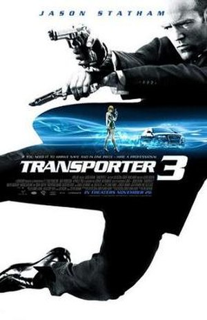 Transporter 3 - Theatrical release poster