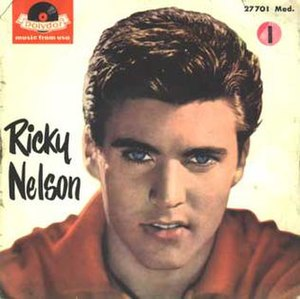 Travelin' Man - Image: Travelin' Man by Ricky Nelson single cover