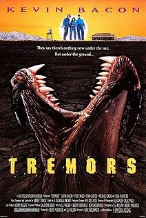 <i>Tremors</i> (1990 film) 1990 American monster horror comedy film by Ron Underwood