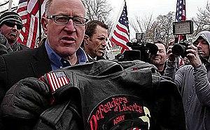 Trevor Loudon - Trevor Loudon speaking at pro-Israel rally in Washington, DC in March, 2015