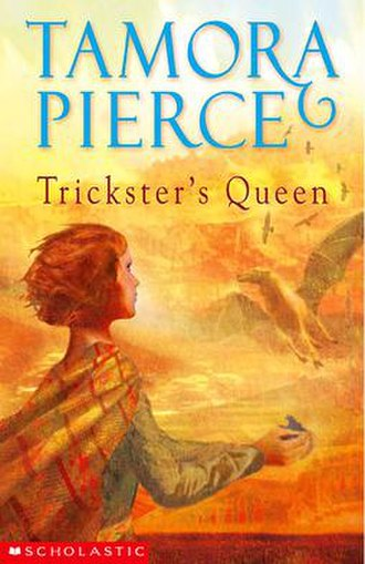 Daughter of the Lioness - Trickster's Queen, the second book of the duology.
